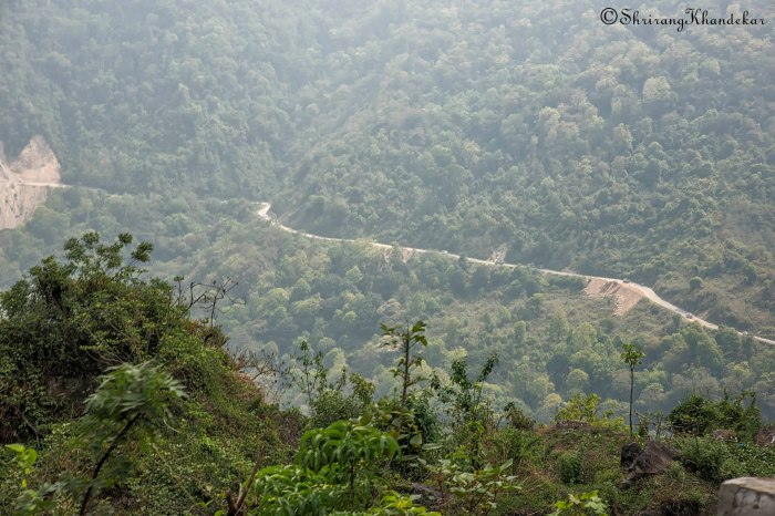 The ghat road